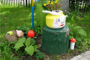 Украшения для сада своими руками сделать