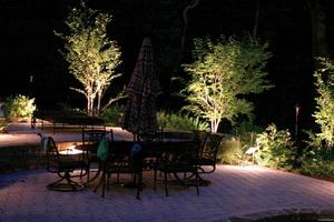 Освещение и подсветка садового участка