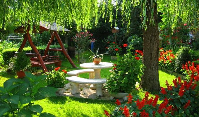 Как сделать уютный сад 62
